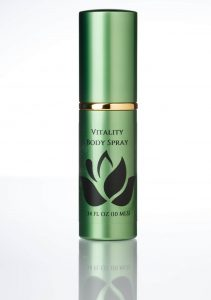 vitality body spray